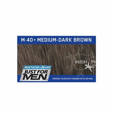 Just For Men Moustache & Beard M40 Medium Dark Brown