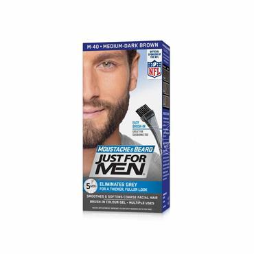 Just For Men Moustache & Beard M40 Medium Dark Brown