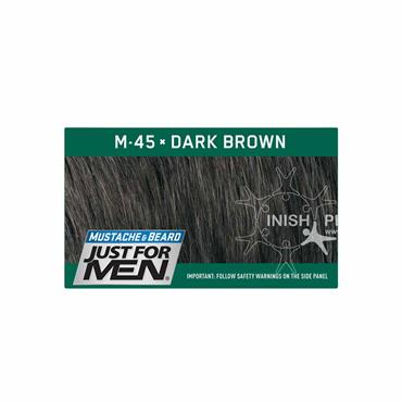 Just For Men Moustache & Beard M45 Dark Brown Black