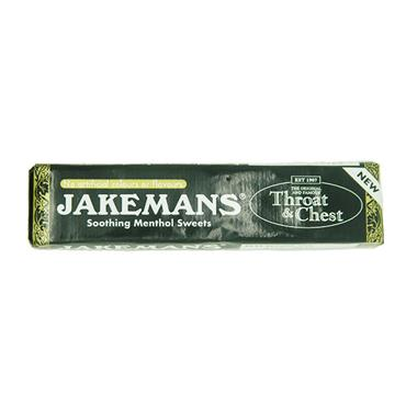 Jakemans Throat & Chest Soothing Menthol Sweets Stick 41g