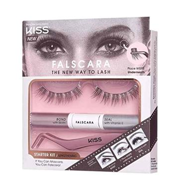 KISS Falscara Eyelash - Starter Kit 01