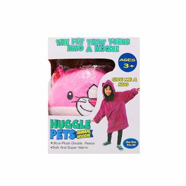 Huggle Pets Animal Hoodie - Pink