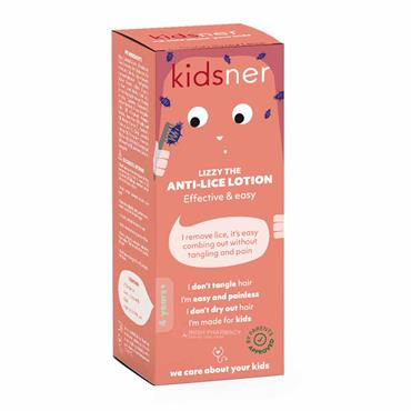 Kidsner Anti-Lice Lotion & Comb 75ml