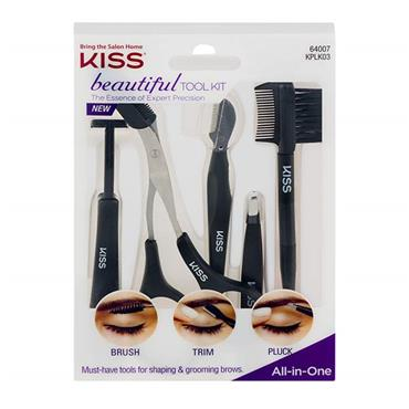 Kiss Beautiful Tool Kit Brows