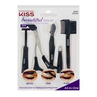 Kiss Beautiful Tool Kit Brows