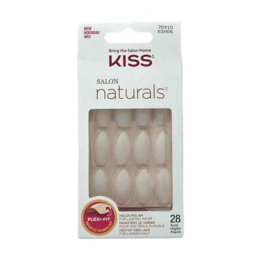 Kiss Salon Naturals Nails Hush Now 28 Pack