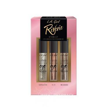 LA Girl Reverie Starlet 3 Liquid Glitter Eyeshadow Set