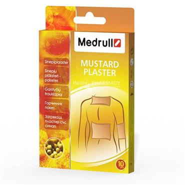 Medrull Mustard Thermal Patches 10 Pack
