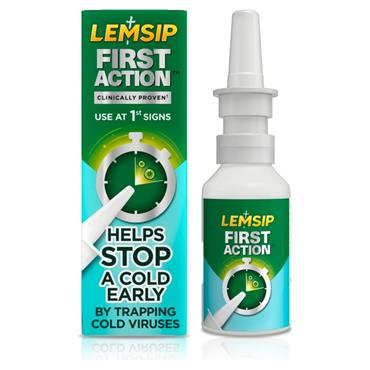 Lemsip First Action Nasal Spray 20ml