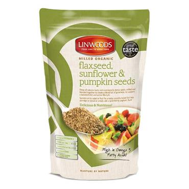 Linwoods Milled Organic Flaxseed Sunflower & Pumpkin Seeds 425g