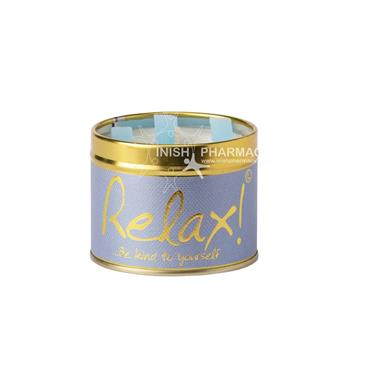Lily Flame Candle in a Tin Relax