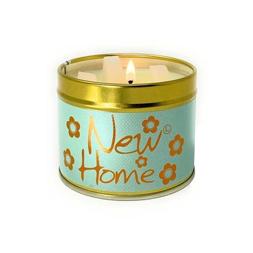 Lily Flame Candle In A Tin New Home