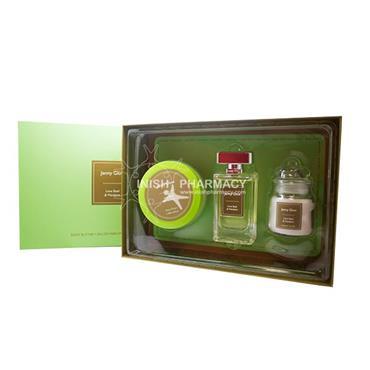 Jenny Glow Lime Basil 3 Piece Gift Set