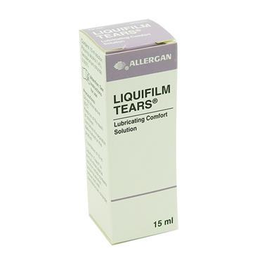 Liquifilm Tears Lubricating Comfort Eye Drops 15ml