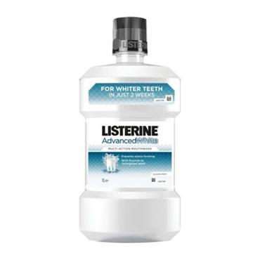 Listerine Advanced White Spearmint Mouthwash 1 Litre