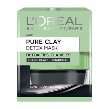 L'Oreal Pure Clay Detox Mask 50ml