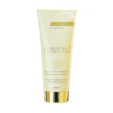 Lusso Tan Organic Tinted Gradual Tan 200ml