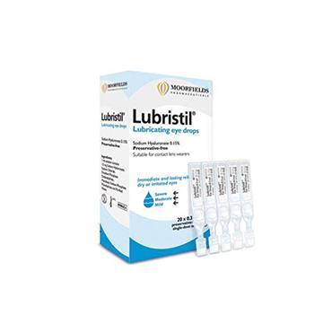 Lubristil Lubricating Eye Drops 20 x 0.3ml