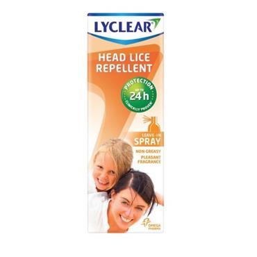 Lyclear Headlice Repellent Spray 100ml