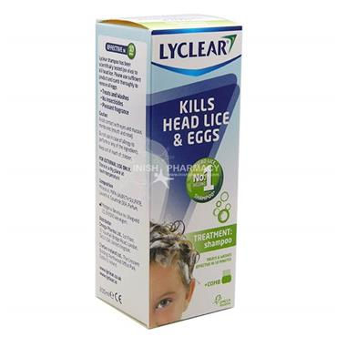 Lyclear Treatment Shampoo & Headlice Comb 200ml