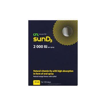 LYL SunD3 2000iu Spray 25ml