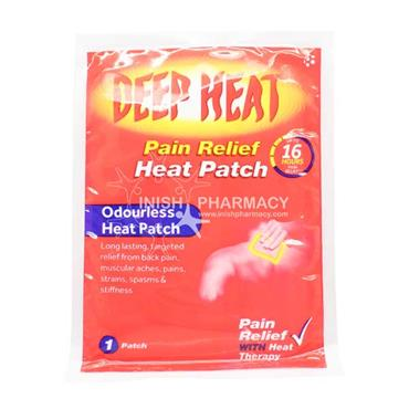 Deep Heat Pain Relief Heat Patch