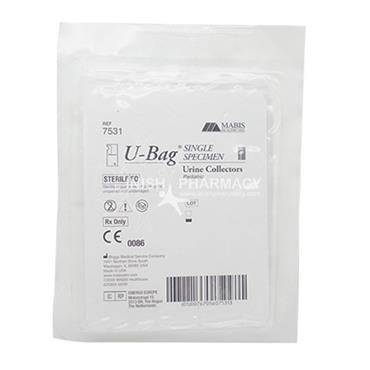 U-Bag Paediatric Urine Collector Bag Single Specimen