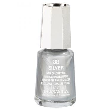 Mavala Nail Varnish Silver 38 5ml