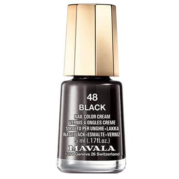 Mavala Nail Varnish Black 48 5ml