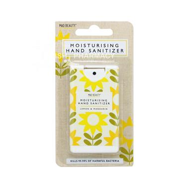 Mad Beauty Moisturising Hand Sanitiser Lemon & Mandarin 15ml