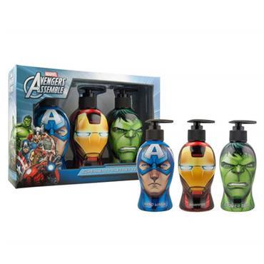 Marvel Avengers Assemble Superhero Wash Set 3 x 300ml