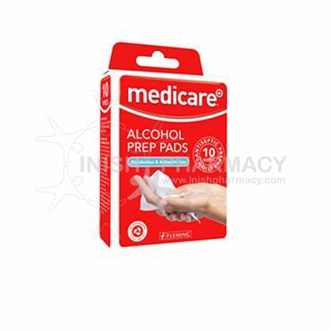 Medicare Alcohol Prep Pads 10 Pack