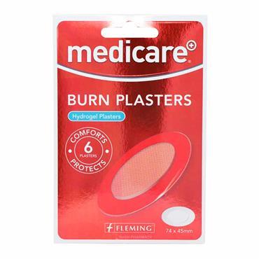 Medicare Sterile Burn Plasters 6 Pack