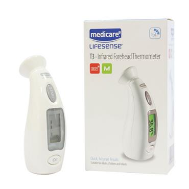 Medicare Lifesense T3-Infrared Forehead Thermometer