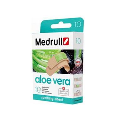 Medrull Soothing Effect Plaster With Aloe Vera 20 Pack