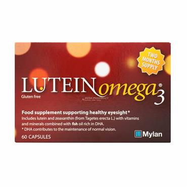 Lutein Omega 3 for AMD 60 Capsules