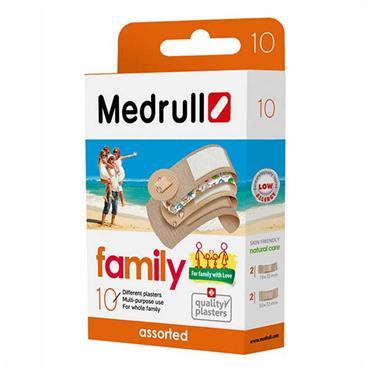 Medrull Assorted Plasters Family Pack 10 Pack
