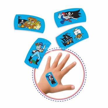 Medrull Pirates Plasters for kids 10 Pack