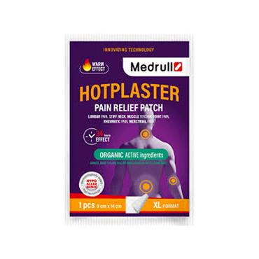 Medrull Hotplaster Pain Relief Patch