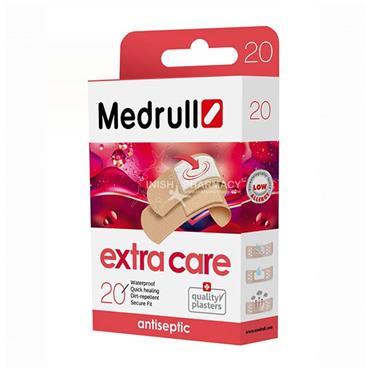 Medrull Antiseptic Extra Care Plasters 20 Packs
