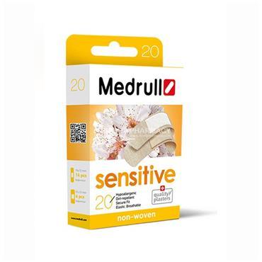 Medrull Sensitive Hypoallergenic Plasters 20 pieces