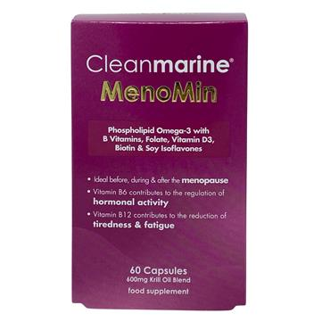 Cleanmarine MenoMin For Menopause 60 Pack