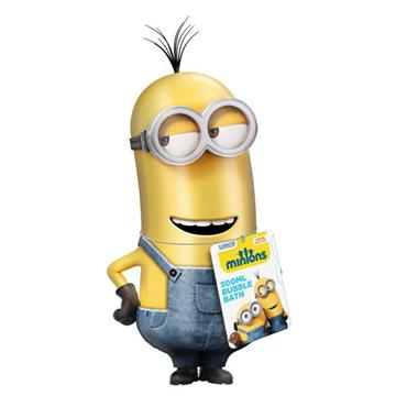 Minions 3D Bubble Bath 300ml