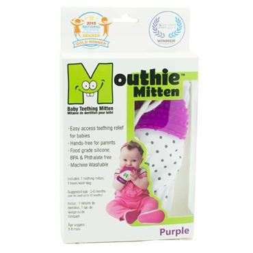 Mouthie Mitten Purple Age 3 - 8 Months