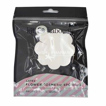 Kit & Kaboodle Latex Flower Cosmetic Sponges