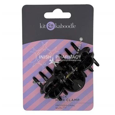Kit & Kaboodle Black Hair Clamp
