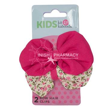 Kit & Kaboodle Bow Hair Clips 2 Pack
