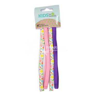 Kit & Kaboodle Floral Hair Bands 4 Pack
