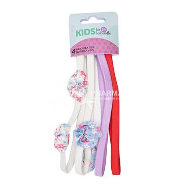 Kit & Kaboodle Decorated Hair Bands 4 Pack
