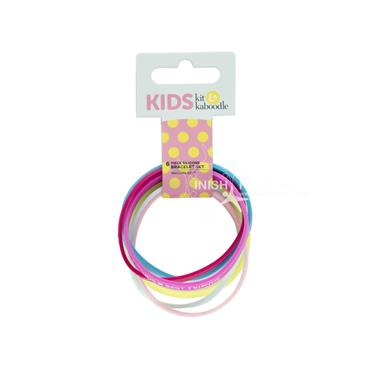 Kit & Kabodle Silicone Bracelet Set 6 Pack